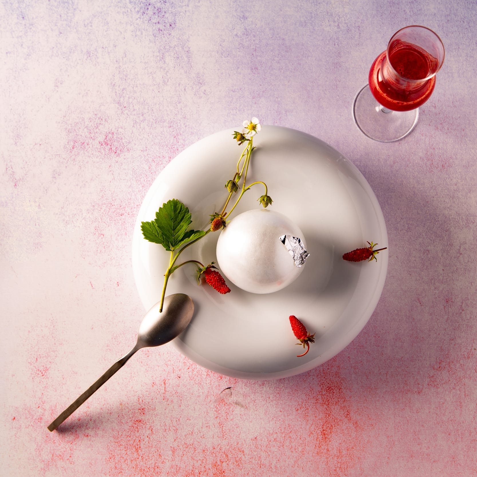 Dessert inspiré d'Espalion