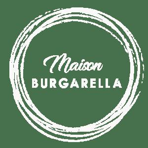 Maison Burgarella menus Logo blanc